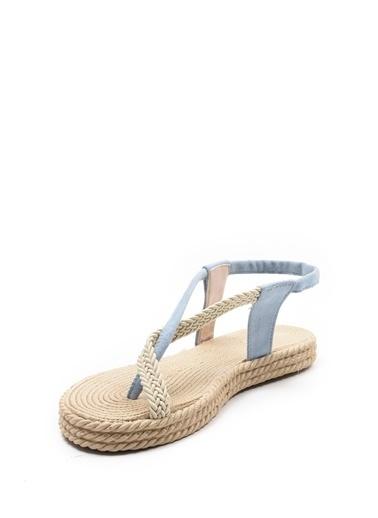 Sapin Sandalet Mavi